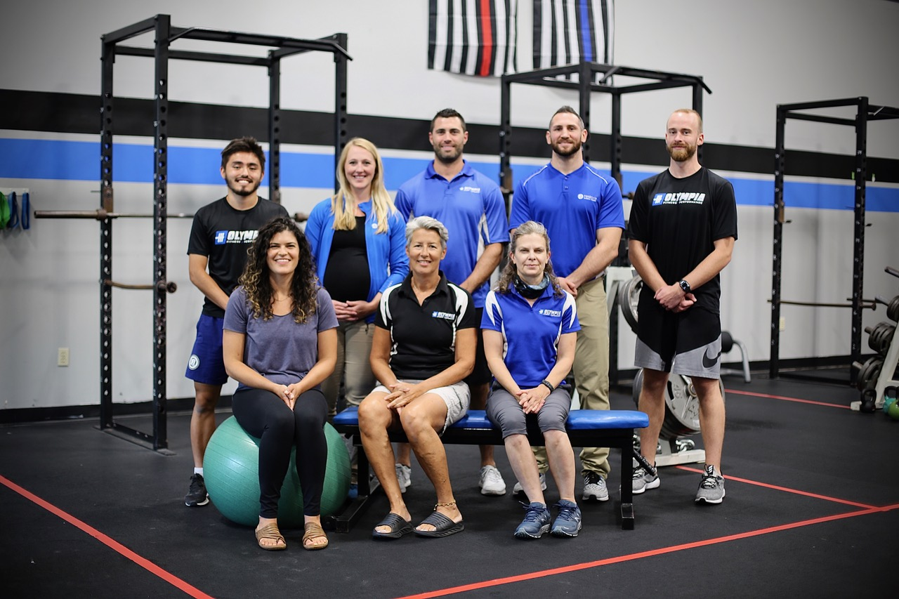 The Olympia Fitness Team